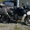 triump tiger 955i touring bmw gs 800 semi trail semi route