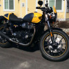 Like New 2017 Triumph Street cup cafe-racer