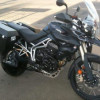 2011 Triumph Tiger 800XC with ABS