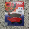 Wr250r front brake pads all model years