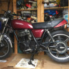 Yamaha SR500 1978 first year of production, Great for Cafe Racer