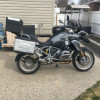BMW 1200 GS.  Like New. Only 5390km. $18000.00