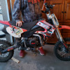 Kids 125 dirtbike