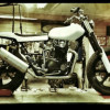 XS650 street tracker project with registration