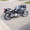 BMW F800ST motorcycle
