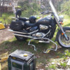 2006 Suzuki Blvd -  C50T (803cc) with hwy bars