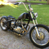 1970 TRIUMPH 500 BOBBER, REAL NICE,  $6300.00