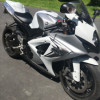 2008 white Gsxr 1000 for sale