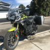 Triumph Tiger 800 Motorcycle (Adventure Bike)