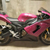 06 KAWASAKI NINJA ZX6R 636R LOW KM CUSTOM PAINT $5500 LIKE NEW